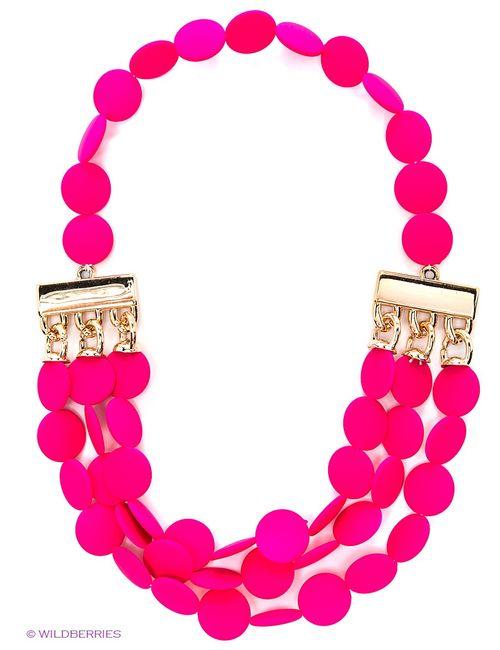 Lovely Jewelry | Женское Розовое Колье