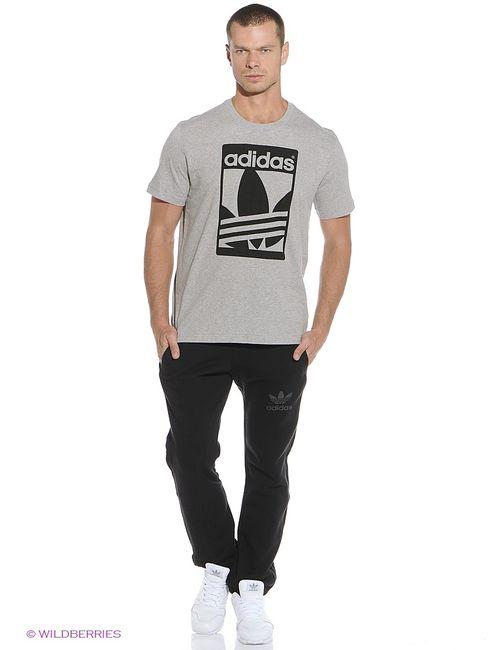 Adidas | Мужская Серая Футболка