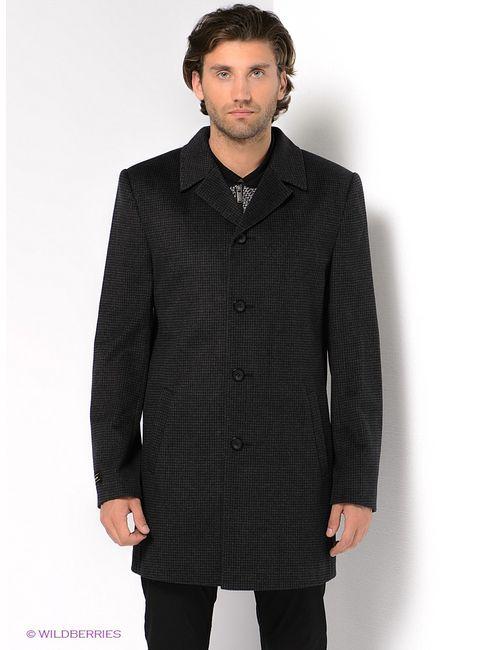 Berkytt | Мужское Чёрное Пальто