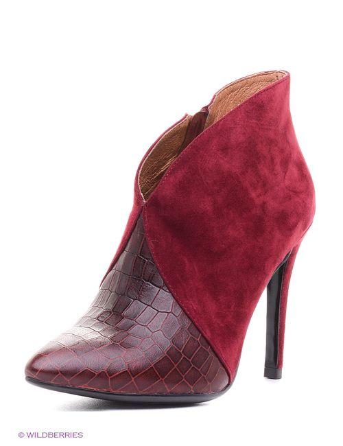 Evita | Женские Красные Ботильоны