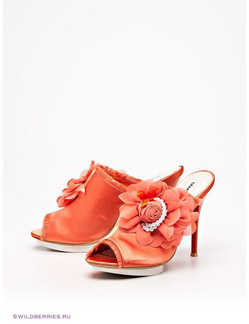 Grand Style   Женское Оранжевое Сабо