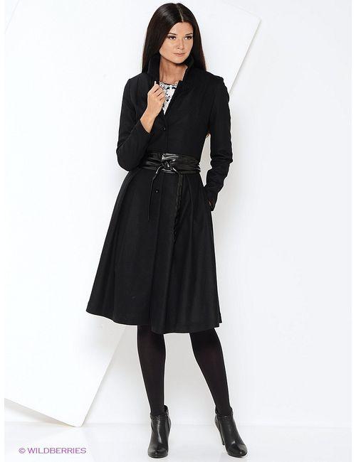 Katerina Bleska&Tamara Savin | Женское Чёрное Пальто