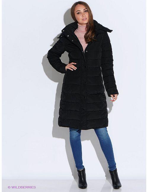 Oodji | Женское Чёрное Пальто