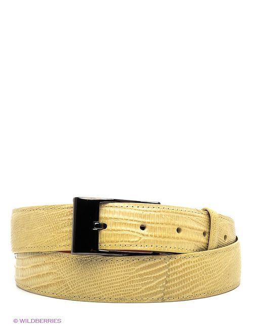 Pan American leather | Женские Жёлтые Ремни