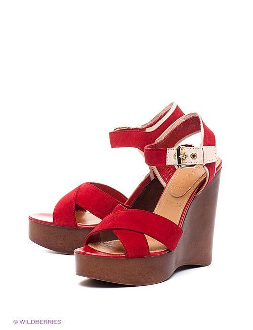 Grand Style | Женские Красные Босоножки