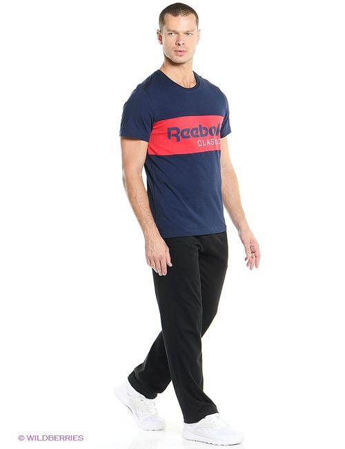 Reebok | Мужская Синяя Футболка