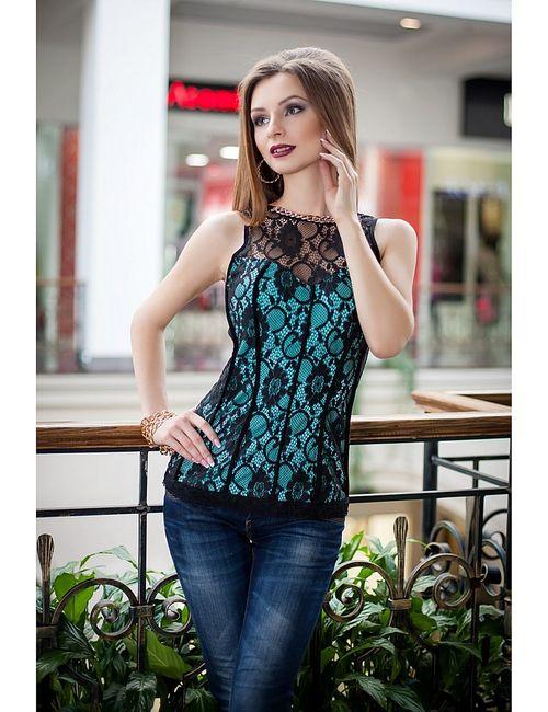 Vision Fashion Srore | Женские Бирюзовые Блузки Vision Fashion Store