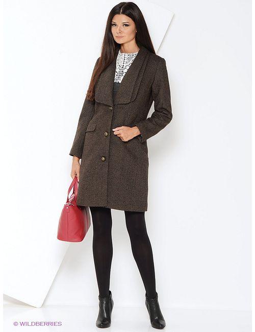Katerina Bleska&Tamara Savin | Женское Коричневое Пальто