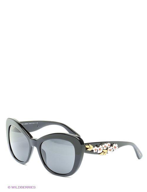 Dolce & Gabbana | Женские Чёрные Солнцезащитные Очки
