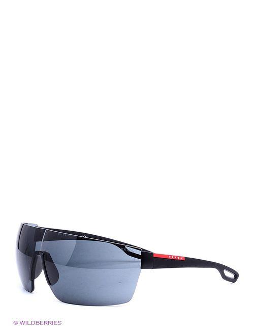 Prada Linea Rossa | Мужские Чёрные Солнцезащитные Очки