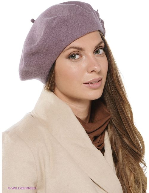 Ваша Шляпка | Женские Лиловые Береты