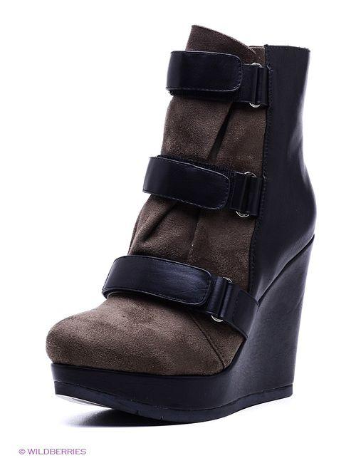 Yaro | Женские Чёрные Ботинки