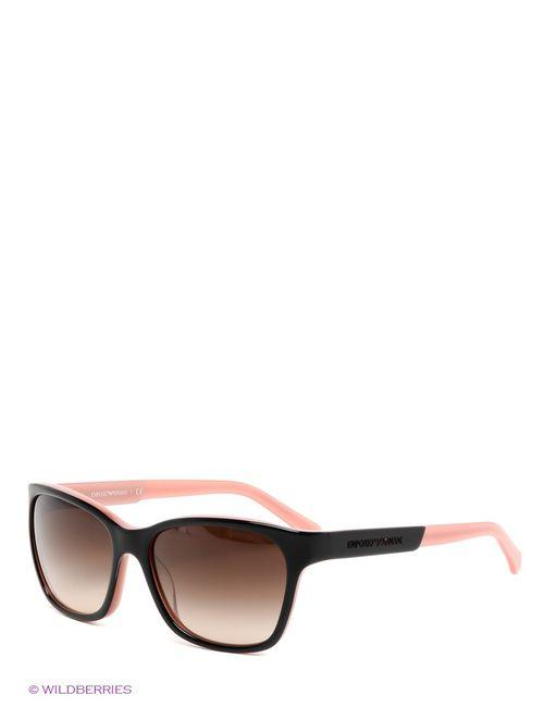 Emporio Armani | Женские Розовые Солнцезащитные Очки