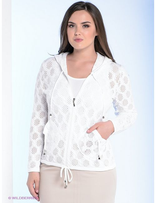 Milana Style   Женские Белые Кардиганы
