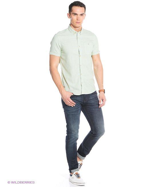 TOM TAILOR | Мужские Зелёные Рубашки