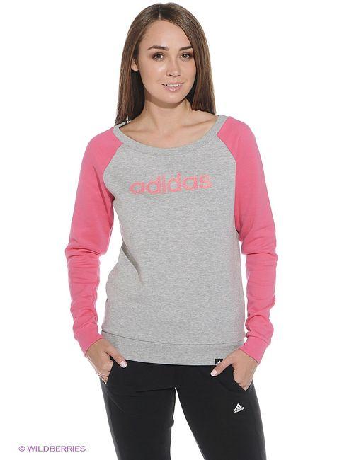 Adidas | Женские Розовые Джемперы