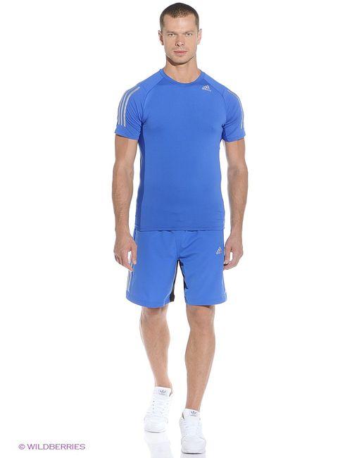 Adidas   Мужские Синие Шорты