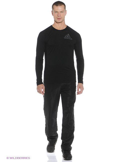 Adidas | Мужские Чёрные Лонгсливы