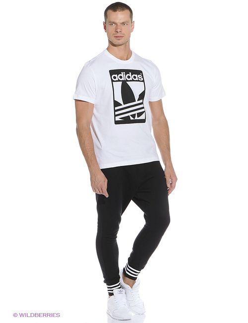 Adidas   Мужская Белая Футболка