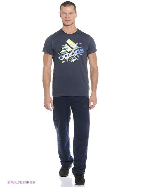 Adidas   Мужская Синяя Футболка