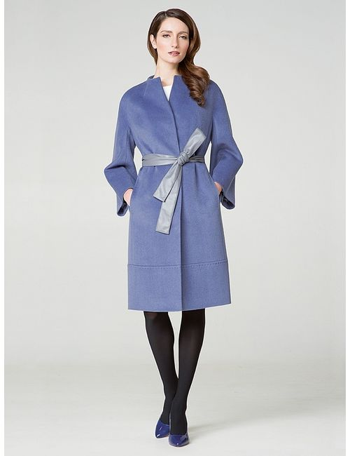 Pompa   Женское Голубое Пальто