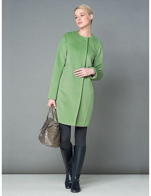 Pompa | Женское Салатовое Пальто