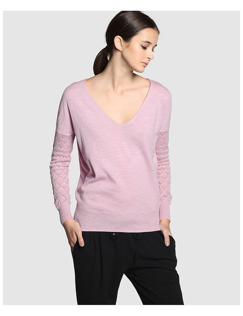 Formula Joven | Женские Розовые Пуловеры