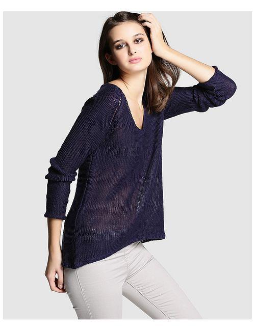 Easy Wear | Женские Синие Пуловеры