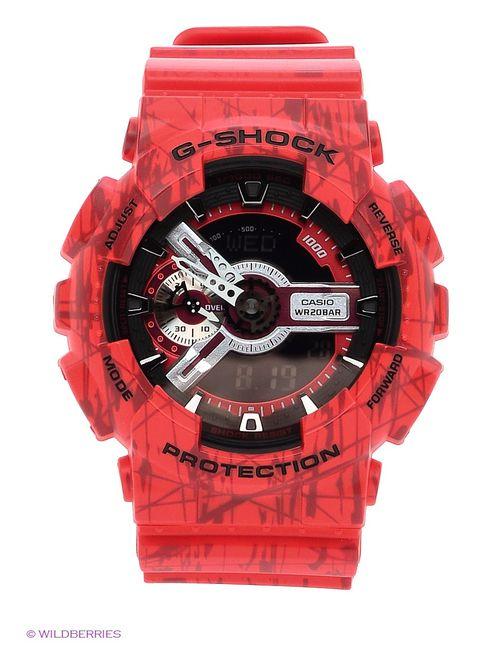 Casio   Женские Красные Часы