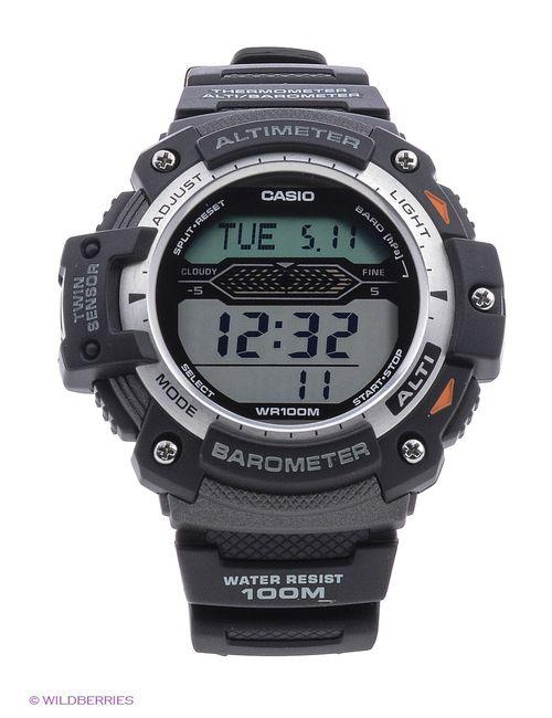 Casio | Мужские Чёрные Часы