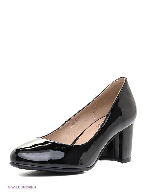 Makfine | Женские Чёрные Туфли