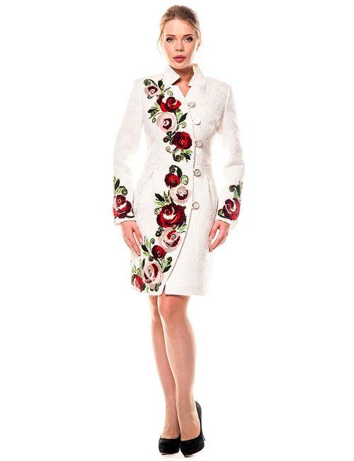 Yukostyle | Женское Белое Пальто