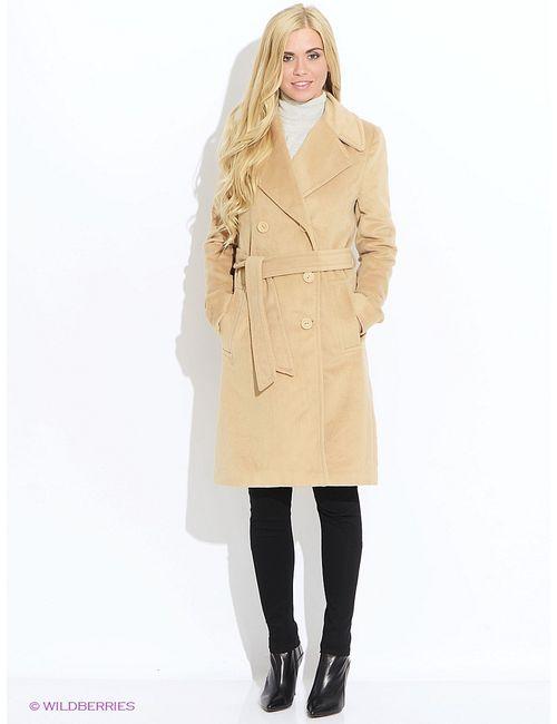Oodji | Женское Бежевое Пальто
