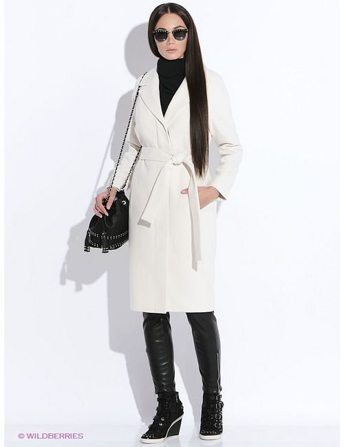 Doctor E | Женское Молочное Пальто