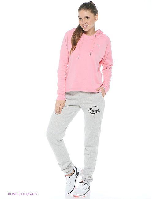 Puma | Розовые Толстовки