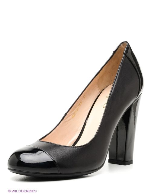 Moda Donna   Женские Чёрные Туфли