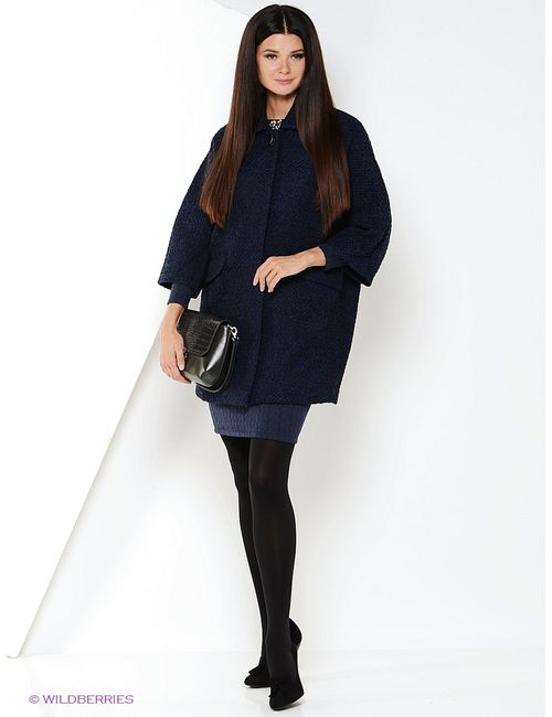 Zarina | Женское Синее Пальто