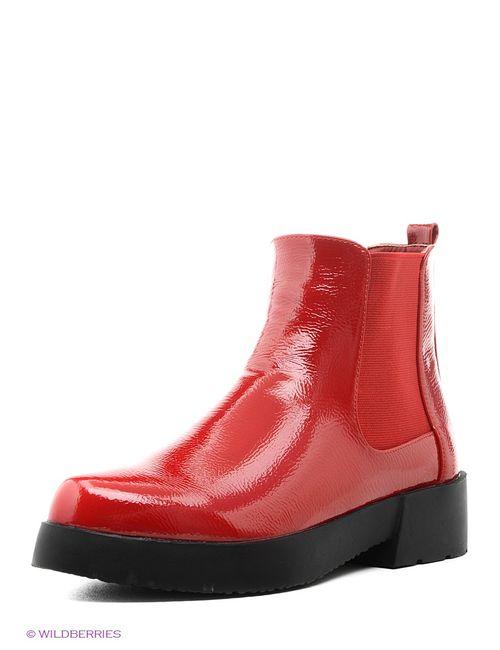 Daze | Женские Красные Ботинки