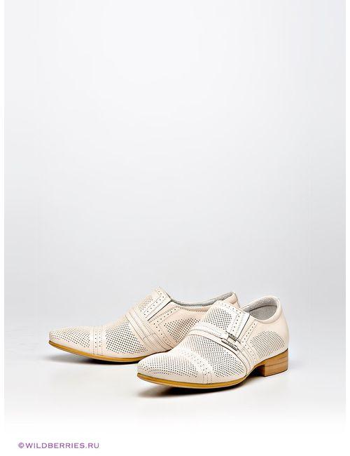 Barcelo Biagi | Мужские Молочный (Осн.) Туфли