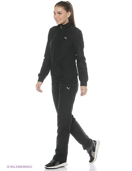 Puma | Женские Чёрные Спортивные Костюмы