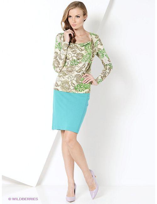 Magnolica | Женские Зелёные Блузки