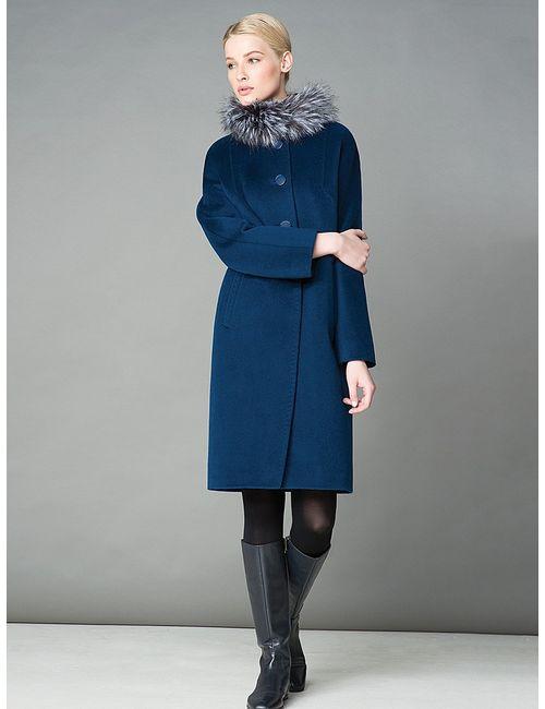 Pompa | Женское Синее Пальто