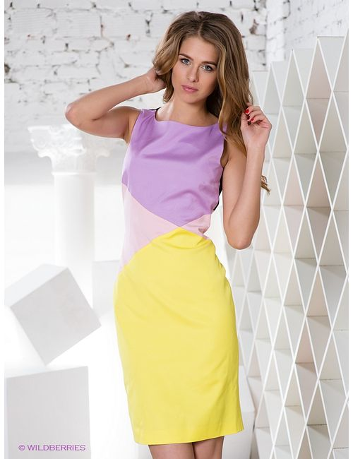 Versace   Женские Жёлтые Платья