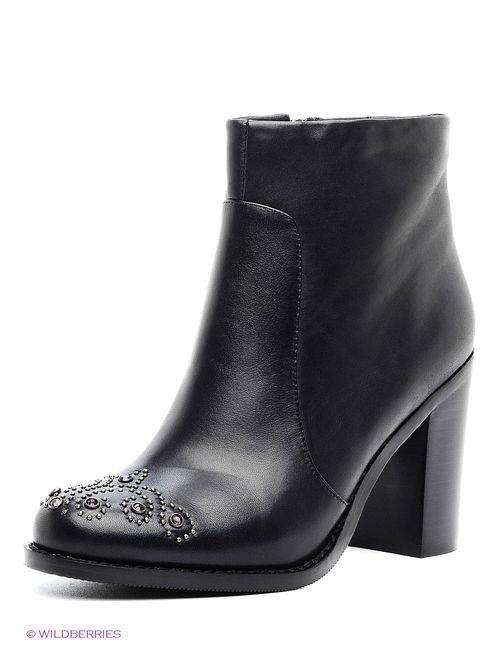 Elche | Женские Чёрные Ботинки