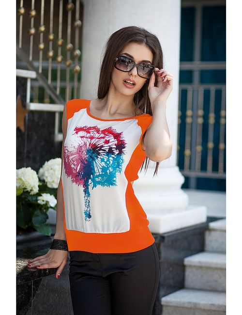 Vision Fashion Srore | Женские Оранжевые Блузки