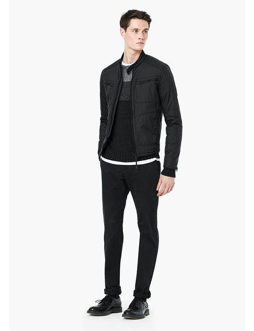 Mango Man | Мужские Чёрные Куртки