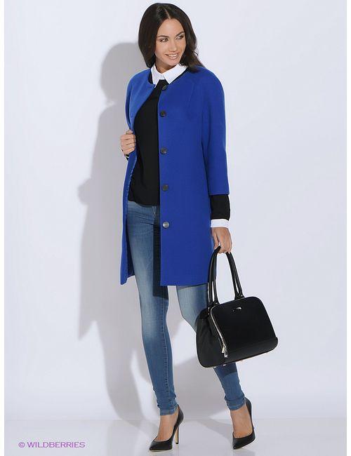 Colambetta | Женское Синее Пальто
