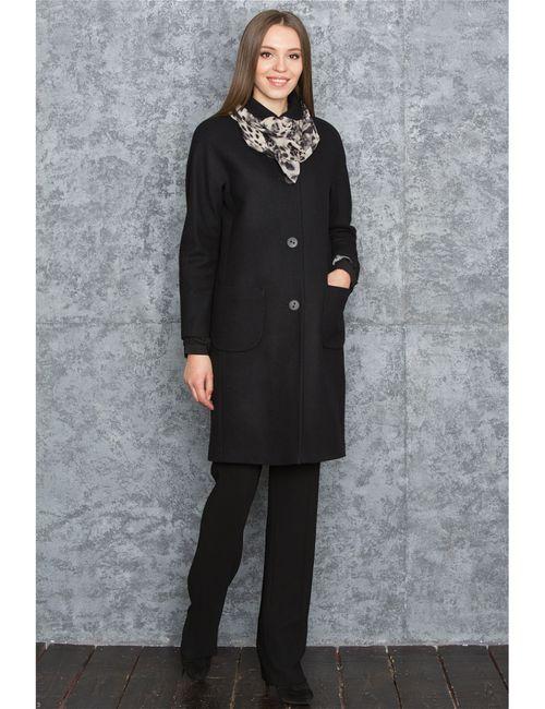 Levall | Женское Чёрное Пальто