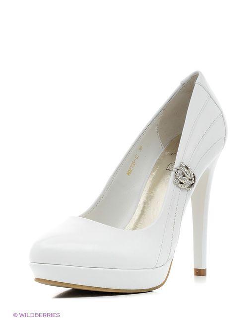 Moda Donna | Женские Белые Туфли
