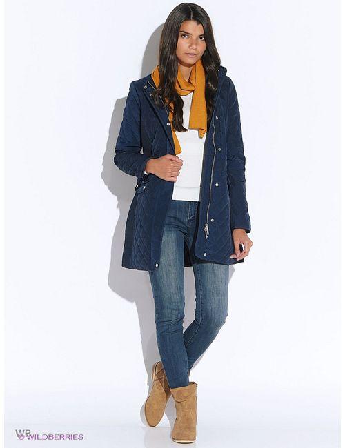 Oodji | Женское Синее Пальто